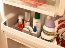 ¡5 cosméticos que deberían guardarse en el frigorífico!