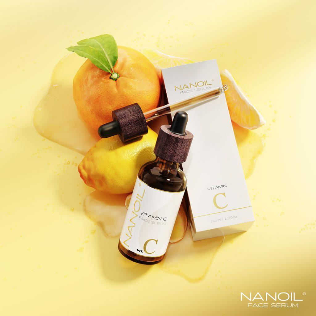 el mejor sérum facial de vitamina c Nanoil